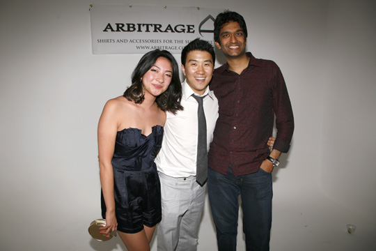 Founding Team (Kristin Ming, Alan Chan, Manoj Dadlani)