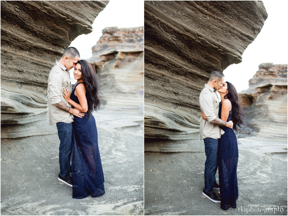 Intimate Engagement Photo