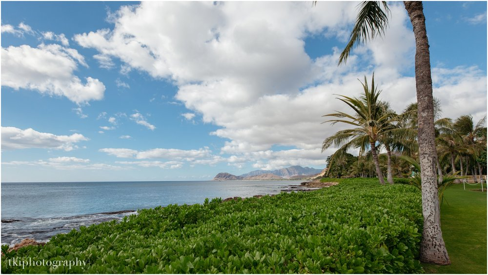 Ko Olina never ceases to amaze us with breathtaking skies and waters, and the Waianae mountains, as if you're glancing at a painting...