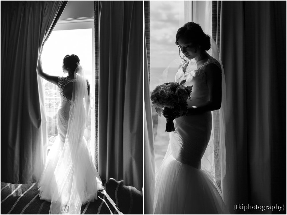 Few moments left before heading to the ceremony site, we shot of few of Mari in her hotel room.  She was completely effortless, stunning, breathtaking..need I say more?