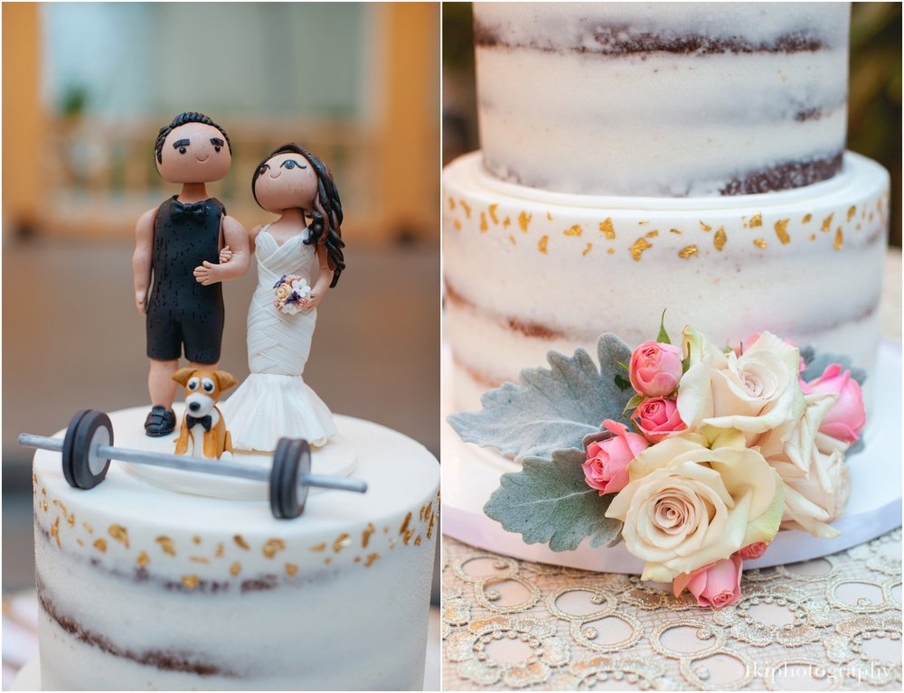 One of the cutest cake toppers to witness!