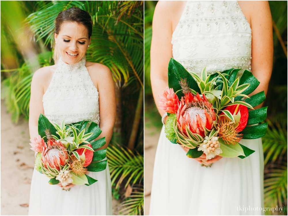 Tropical Bouquet Ideas for Bride
