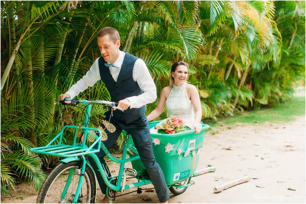 Groom Bikes Wife Away