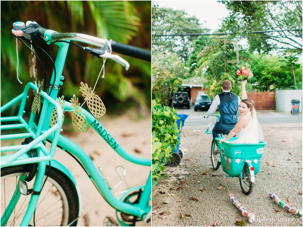 Wedding Getaway Bike