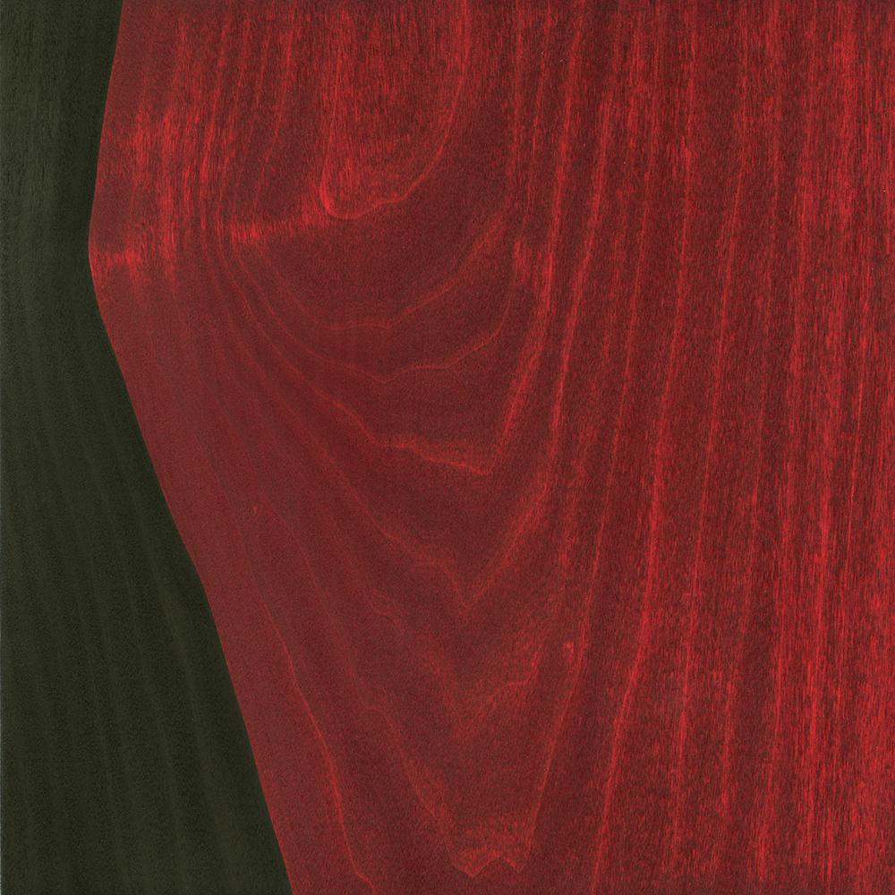 "Flow    Gouache / Ink / Wood   8 .875 "" x 8 .875 "" x 1"" 2014"