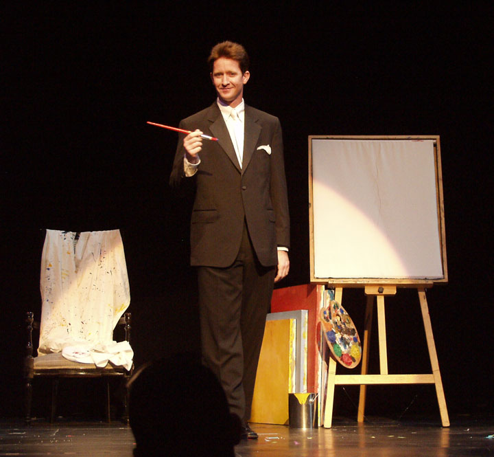 Colorado Corporate Entertainer and Comedy Magician Rod Wayne. Master of Ceremonies, Stage, Theater, Corporate Trade Shows, School Assembly Programs, and performance art theaters.