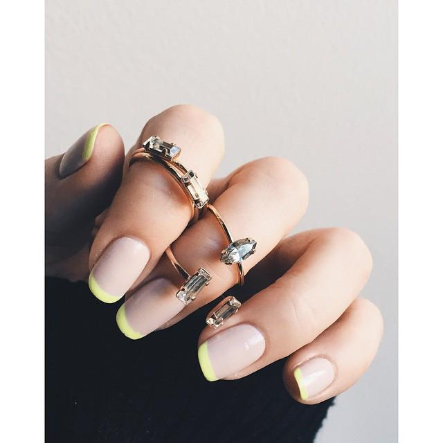 Free-styled_the_eff_out_of_the_old_nail_salon_appointment_today...____FlossGloss__Dinge__NeonYellow__BingBangNyc__BingBangBabe__DoubleBaguetteRing__TinyMarquisRing__TinyBaguetteRing_1024x1024.jpg