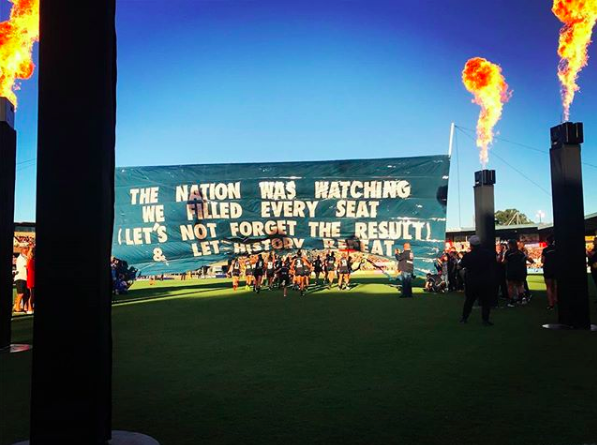 2018 AFLW Season Opener - No gags or puns here, just a reminder of how triumphant the 2017 AFLW Season Opener was for both the game itself and the Carlton Football Club.