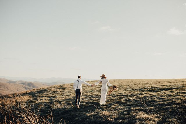 A few weeks back cam and I got to dress up and run around on a mountain top in the freezing cold (worth it) 💫 While it's hard to believe that in June we will have been married for a year, it also feels like I've never not known life with Cam. He's my greatest adventure and best friend. 📷: the super talented and kind @alexaannphoto
