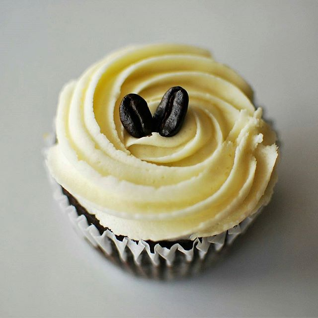 Repost - @thetwowhisks -  Caramel and Mocha.  Can a cupcake be any more perfect?  Chocolate and coffee, and sweetness, oh my!  #thetwowhisks #wearestartingablog #plantbased #glutenfree #getonthistrain #gloriousdessert