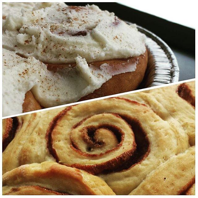 Cinnamon Rolls! #dairyfree #eggfree #yfetbakery #vegan