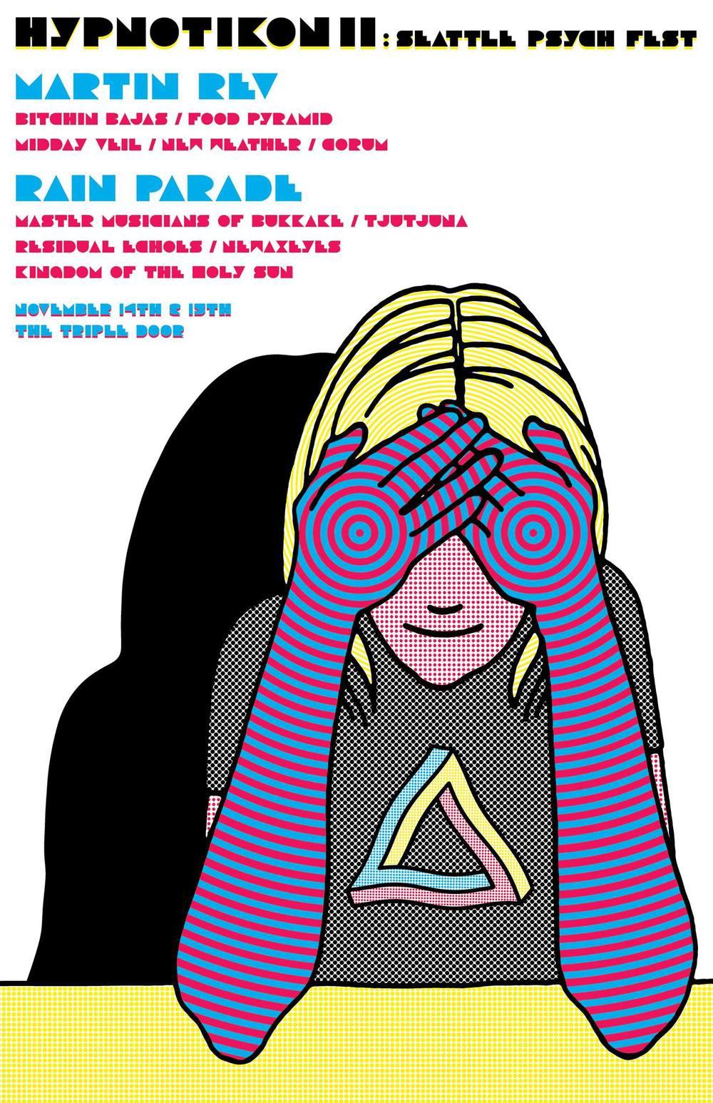 11.15.14 Hypnotikon II: Seattle Psych Fest The Triple Door, Seattle, WA