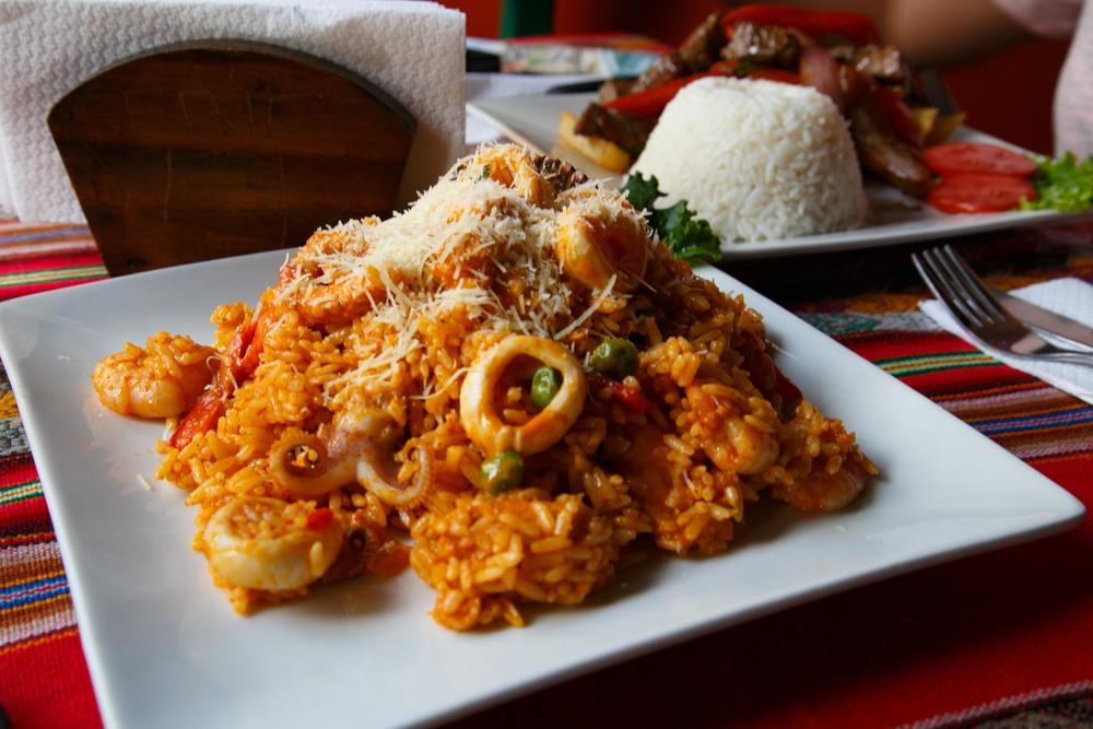 Julian's seafood fried rice