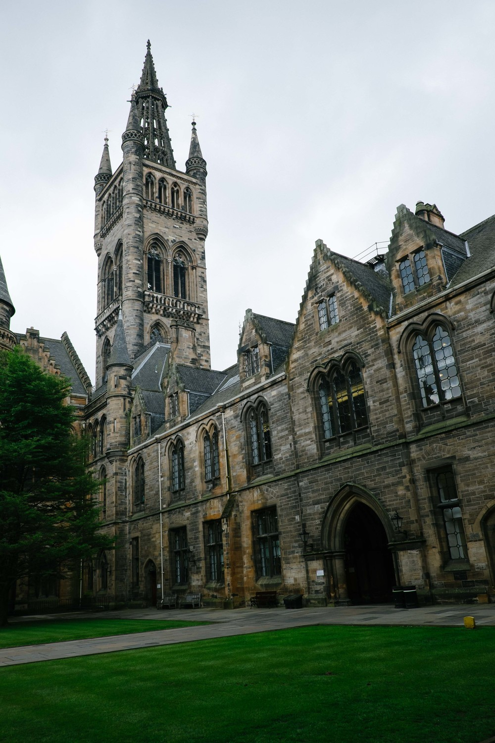 University of Glasgow - West Quadrangle/Gilbert Scott Building