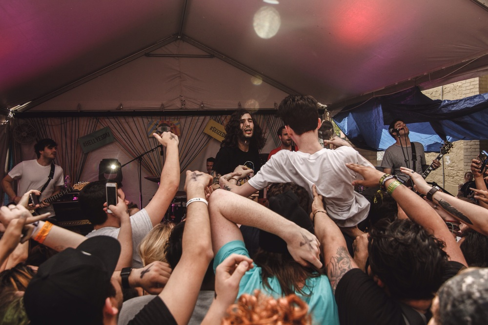 Chicago-based band Real Friends kills it at their first SXSW show.