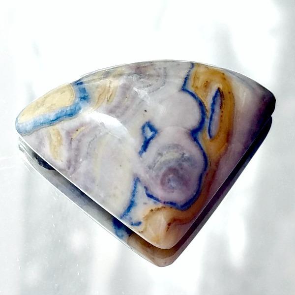 Lapis Lace Onyx Cabochon Turkish Lace Onyx