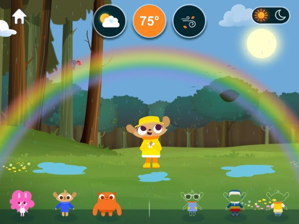 Marcopolo Weather lets you experiment with different weather conditions, wind speeds, and temperature