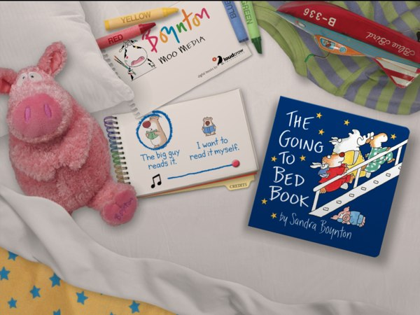 The Going to Bed Book is a great adaptation of Sandra Boynton's board book