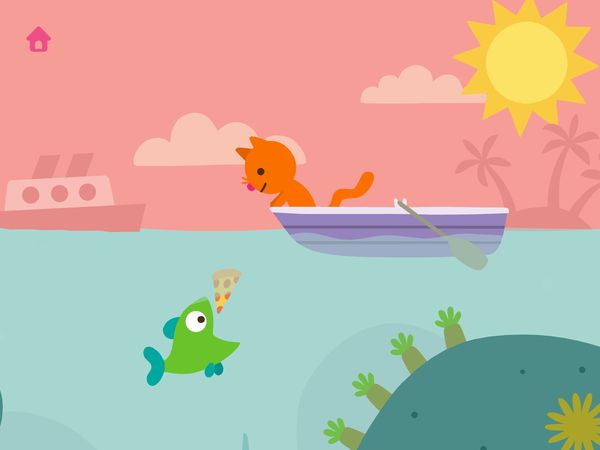Sago Mini Ocean Swimmer is one of the best nature exploration apps for ages 2+
