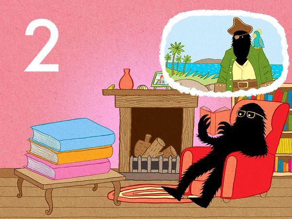BEST NUMBER APP FOR ONE-YEAR-OLDS: The Lonely Beast 123 is a silly flashcard app that teaches kids to count from 1–12