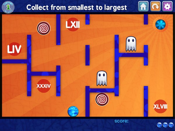 Marble Math review - A fun maze game for practicing math concepts