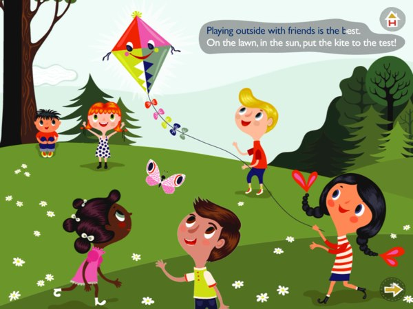 An interactive musical storybook app for juniors aged 2+.