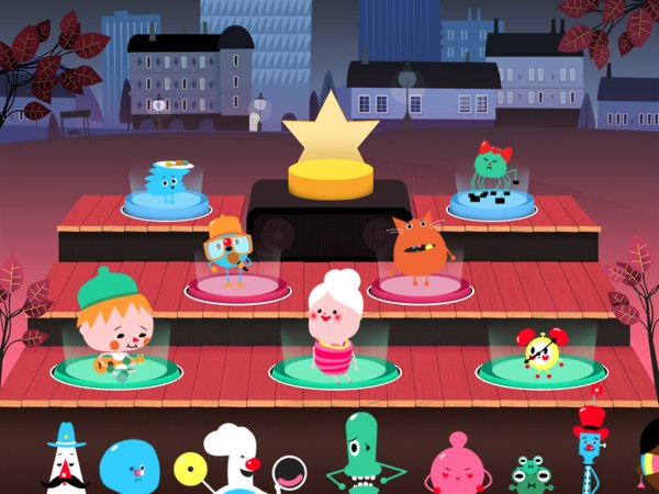 Toca Band review - A unique, fresh and fun musical toy app