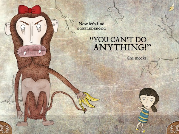 Monkeys in My Head Review - Pirouette has monkeys in her head that keeps mocking her.