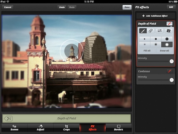 The New Camera+ Review - The new Camera+ for iPad enables you to control multiple effects in a layered approach.