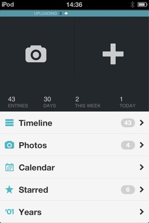 Day One is a great journaling app available on both iOS and Mac OS X.