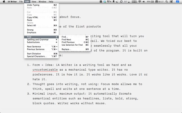 iA Writer review - Award-winning writing app for Mac and iOS.