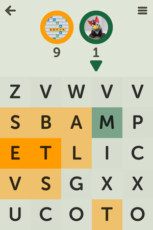 Letterpress review - A two-player strategic word game powered by Game Center