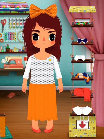 Toca Tailor - A fun digital toy where juniors can design their own wardrobes.