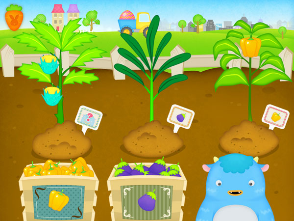 Happy Little Farmer review - Cultivate the ground, plant seeds and grow various crops.