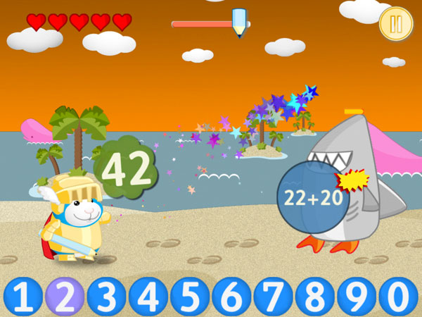 Bugsy in Math Kingdom review - A fun and educational math game.