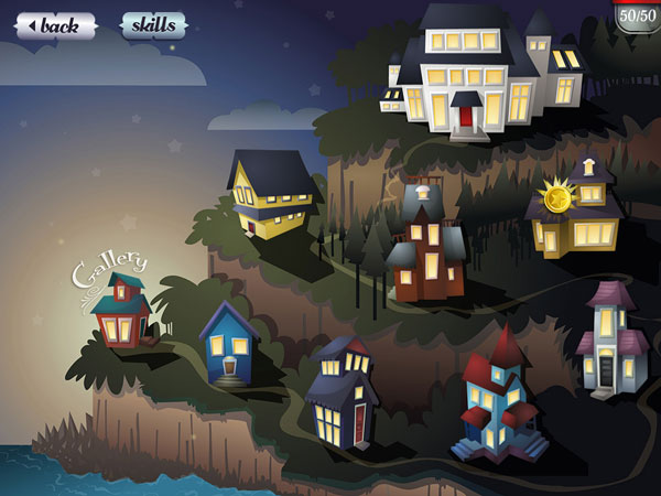 Mystery Math Town is an immersive math game where juniors solve math equations to rescue fireflies