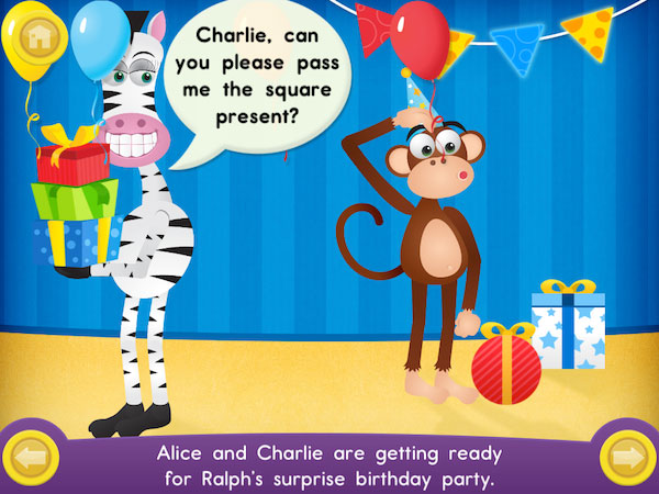 Help Alice and Charlie prepare for Ralph's birthday party.