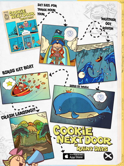 A quick summary of what happened in Cookie Next Door ~ Rainy Days.