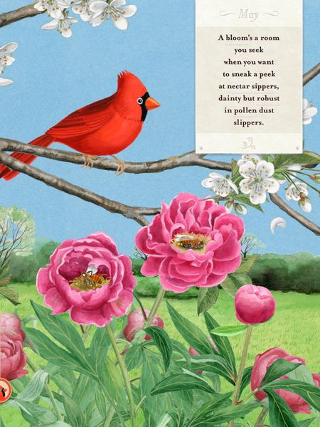 A Word's a Bird is a unique app that introduces kids to the lovely sounds of poetry