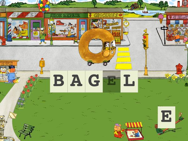 Words that Go is a great app for kids to practice spelling.