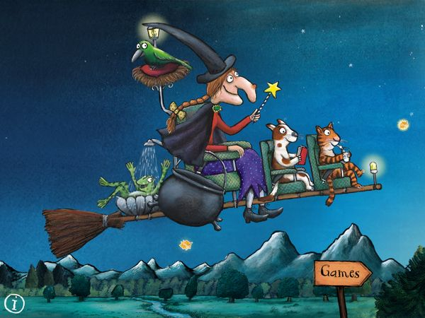 Room on the Broom Games enchants kids with fun mini games fitting for Halloween