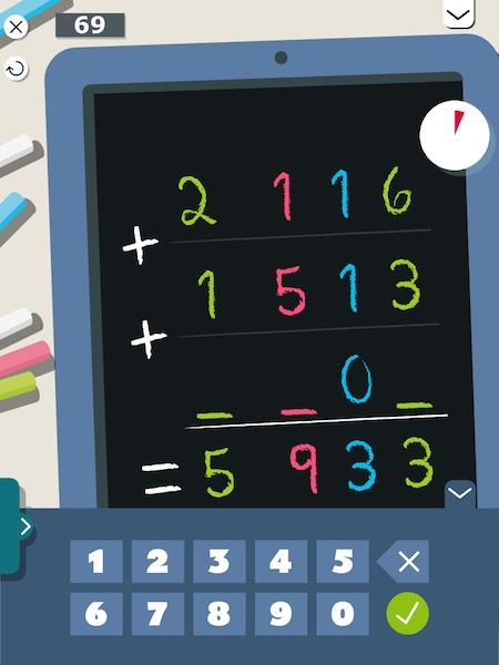 Montessori Math Challenge lets juniors practice arithmetic skills