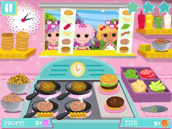 Lalaloopsy Diner: Diner Dash for Kids