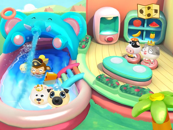 Dr. Panda\'s Swimming Pool Makes a Splash on the iPad — Geeks With ...