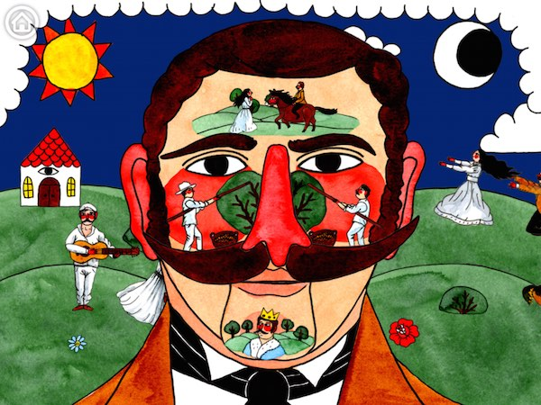 Play Opera blends famous love-themed opera fragments with whimsical, interactive artwork