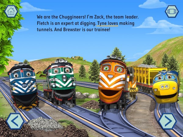 The We are the Chuggineers app is based on the Chuggineers: Ready to Build extended episode