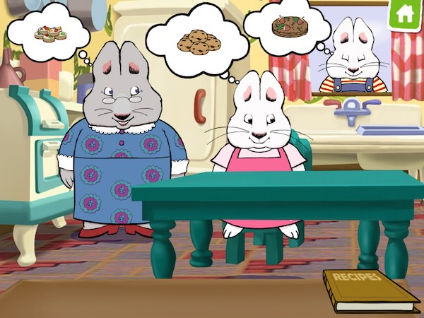 Kids learn to bake various treats in Max & Ruby Bunny Bake Off