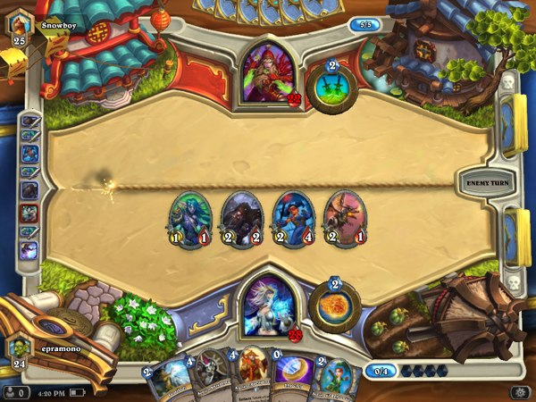 Hearthstone for iPad: Deck Building, Ranked Play and Arena