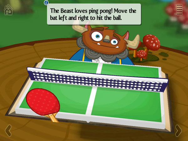 Play ping-pong with the Beast.