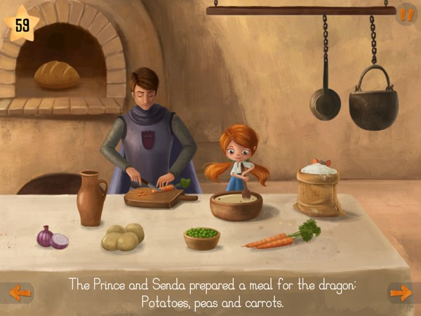 Knowing that the Dragon only wanted to eat candies, will he be interested in the prepared meal?